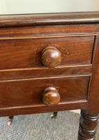 Victorian Mahogany Drop Flap Work Table (2 of 18)