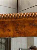 19th Century French Burr Walnut Wall Mirror (8 of 19)