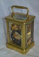 Striking Victorian Brass Carriage Clock (3 of 6)