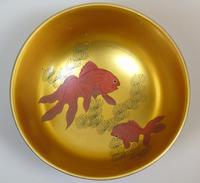 Beautiful Set of Three Japanese Lacquer Bowls (4 of 9)