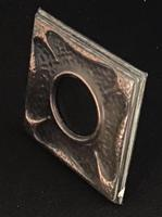 Small Arts & Crafts Copper Easel Photo Frame (3 of 4)