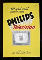 Philips TV - Original Advertising Artwork c.1950