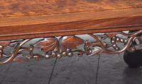 Qing Period Chinese Rosewood & Burr Wood Low Table (4 of 8)