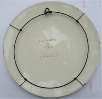 Florence Ann Claxton '1838-1920' - Confirmation in 1700, Painted Pottery Plaque (3 of 6)
