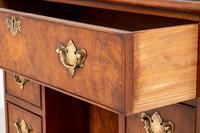 Georgian Style Walnut Kneehole Desk (7 of 10)