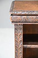 Victorian Carved Oak Bookcase (5 of 11)