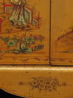 Antique Art Deco Chinese Painted Cabinet, Ornate Gold Decoration, Signed (2 of 28)