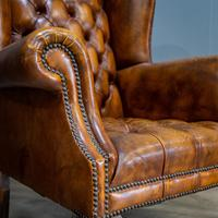 Wingback Leather Armchair (3 of 12)