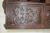 Antique Japanese Carved Wood Tabletop Cabinet c.1900 (12 of 15)