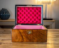 Figured Walnut Table Box c.1880 (2 of 9)