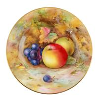 Royal Worcester Fruit Cup Saucer & Plate (2 of 9)
