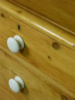 Victorian Stripped Pine Chest of Drawers - Carriage Paid Most Areass (6 of 9)