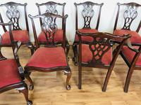 Set of Eight Oversized Dining Chairs (14 of 18)