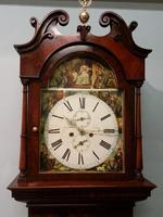 19th Century Mahogany Longcase Clock (9 of 9)
