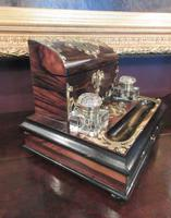 Early Victorian Coromandel Letter & Inkstand (7 of 7)
