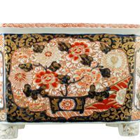 Japanese Imari Porcelain Planter (7 of 8)