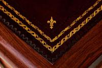 Antique French Rosewood Vernis Martin style Bureau de Dame circa 1900 (3 of 9)
