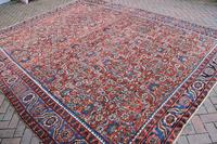 Antique Heriz square carpet 383x311cm (4 of 9)