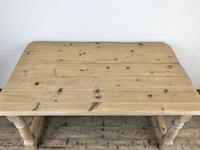 Vintage Antique Pine Farmhouse Kitchen Table (12 of 18)