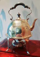 Mappin & Webb Prince's Plate Kettle on Stand