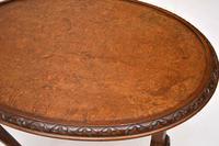 Antique Burr Walnut Nest of Three Tables (4 of 10)