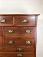 Large Edwardian Mahogany Bank of Drawers (3 of 17)