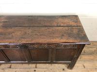 Antique Carved Oak Coffer (7 of 13)