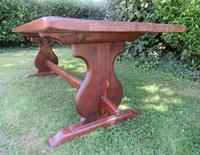 Large French Oak Refectory Dining Table (6 of 12)