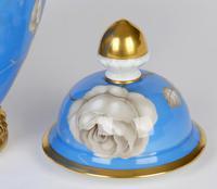 Rosenthal German Porcelain Lidded Jar & Cover with En Grisaille Roses Decoration c.1935 (12 of 15)