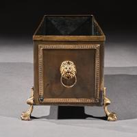 19th Century French Brass & Copper Table Planter Jardiniere (3 of 8)