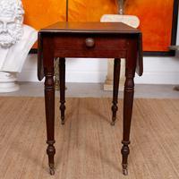 Georgian Dropleaf Pembroke Table Mahogany (2 of 12)