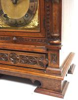 Superb Antique Solid Walnut 8-day Mantel Clock Ting Tang Striking Bracket Clock by W&H (7 of 12)