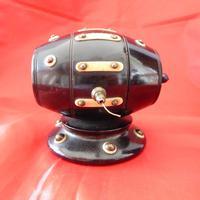 19th Century Lignum Vitae Rotating String Dispenser (3 of 3)