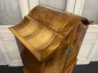 Burr Walnut Cupboard Over Chest (5 of 15)