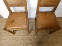 Yorkshire ( Lizardman) Oak Table & 4 Chairs (11 of 13)