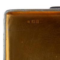 Simple Style Harrods Silver Cedar Lined Cigarette or Cigar Box (6 of 6)