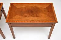 Pair of Antique Inlaid Mahogany Side Tables (12 of 12)