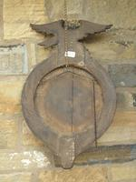 Regency Style Circular Convex Mirror Eagle Crest (6 of 6)