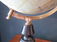 "1920's 8"" Papier Mache Terrestrial Globe (5 of 7)"