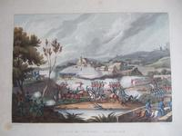 """Aquatint of """"The Battle of Vimiera 1808"""" Pub. by James Jenkins in """"Martial Achievements of Great Britain & Her Allies 1799-1815"""""""