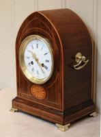 Rosewood Lancet Top Mantel Clock (3 of 15)