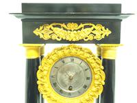 French Regulator Table Portico Mantel Clock Sought After Classic 8 day Clock (6 of 11)