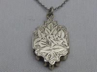 Victorian Silver Locket (2 of 8)