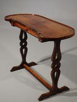 Exceptional Late 19th Century Kingwood Kidney Shaped Writing Table (2 of 6)