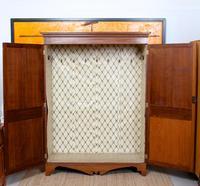 Oak Wardrobe Arts & Crafts Victorian 19th Century (3 of 9)