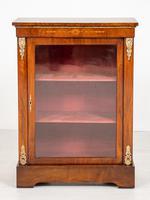 Burr Walnut Victorian Pier Cabinet (2 of 7)
