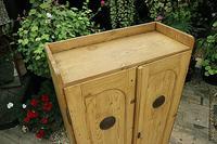 Fabulous Old Pine 2 Door Cupboard / Linen Cupboard / Food / Larder with Shelves  - We Deliver! (5 of 11)