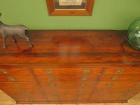 Substantial Antique Bank Of 18 Shop Drawers (13 of 25)