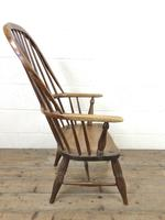 Antique Stick & Hoop Back Armchair (9 of 10)
