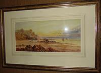Edwardian Watercolour - Coastal Scene